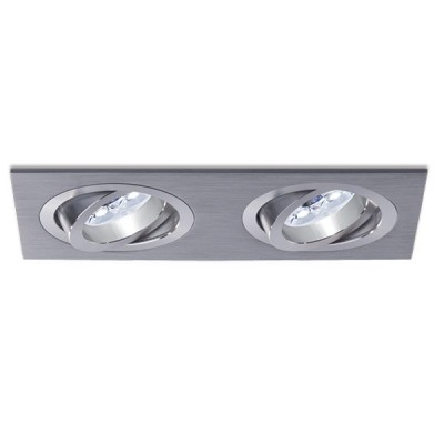 BPM 3012 12V oczko halogenowe srebro szare