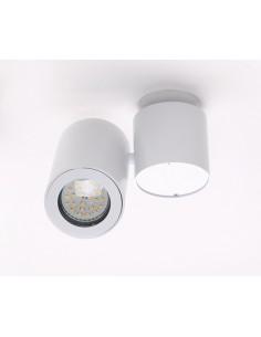 Barro plafon - Lampa sufitowa biała tuba regulowana Maxlight  C0036