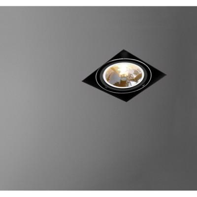 Squares 111x1 Bez Ramki 230V Chrom B  - Oprawa wpuszczana Aquaform (37511-32)