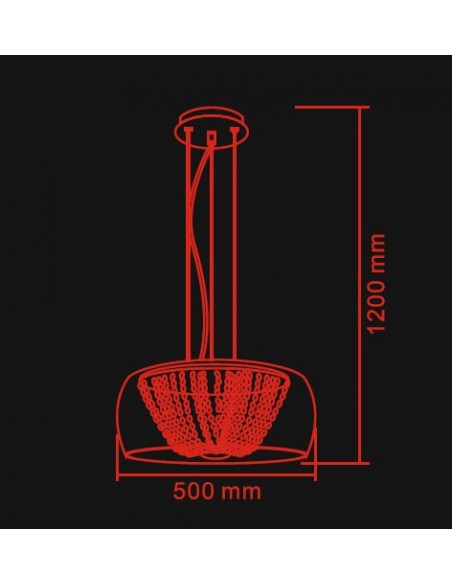 Lexus 500 S claro - Lampa wisząca Orlicki Design
