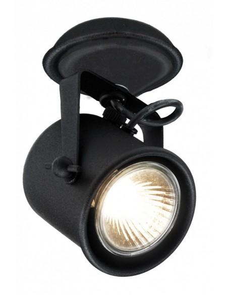 Alter 1 czarny - Lampa sufitowa Reflektorek  Kaspa