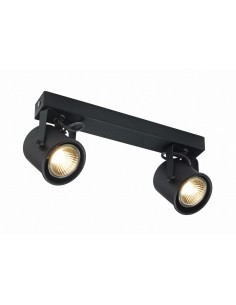 Alter 2 czarny - Lampa sufitowa Reflektorek  Kaspa