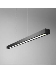 ET RAW 90 FLUO 28W L zwieszany AQForm - Lampa wisząca profil minimalistyczna prosta forma belka (54411)