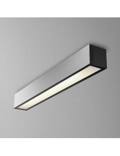 SET ALULINE 60 FLUO 14W L natynkowy AQForm 40000 - Lampa sufitowa profil 60cm