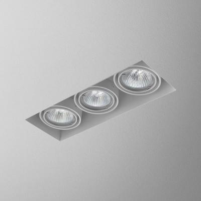 SQUARES 50x3 trimless 230V wpuszczany - Oprawa wpuszczana Aquaform 37013-03