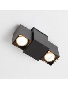BIZEN 245 (biały, czarny, szary) - Lampa sufitowa reflektor  Shilo