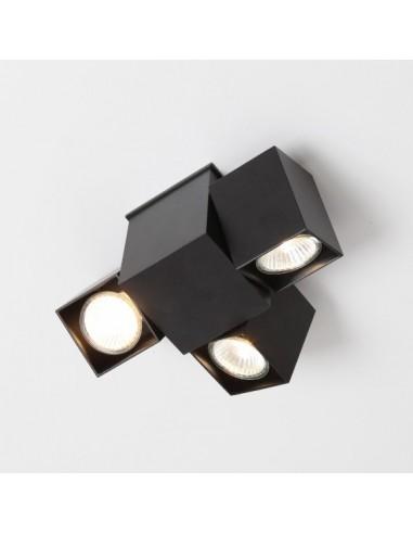 BIZEN 246 (biały, czarny, szary) - Lampa sufitowa reflektor  Shilo