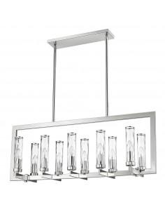 Lampa wisząca OXFORD P10069NI - lampa industrialna żyrandol  Cosmo Light