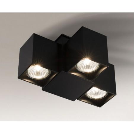 BIZEN 2246 Shilo (biały, czarny, szary) - Reflektor Lampa sufitowa Shilo