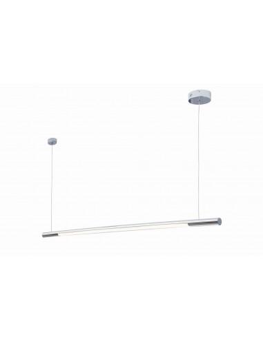 ORGANIC HORIZON P0359 LAMPA WISZĄCA LED CHROM MAXlight lampa owalna długa tuba chrom 150cm