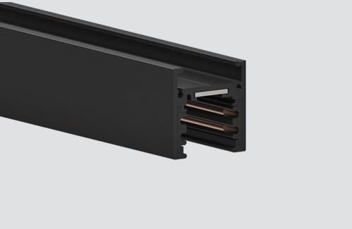 MULTITRACK ( SZYNOPRZEWÓD ) natynkowy 2m czarny Aqform MTT32B-02 Szynoprzewód 48V Multitrack