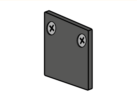 ST MULTITRACK KOŃCÓWKA natynk/zwieszany czarna/biała Aqform MTEC3B-02 Szynoprzewód 48V Multitrack