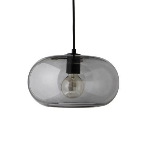 Kobe Pendant Glass smoke Frandsen Lampa wisząca szklana przydymiona 1299 270505001