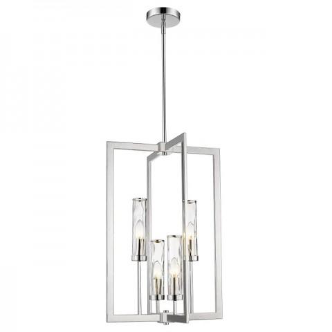 Lampa wisząca OXFORD P04052NI - duża lampa industrialna żyrandol  Cosmo Light